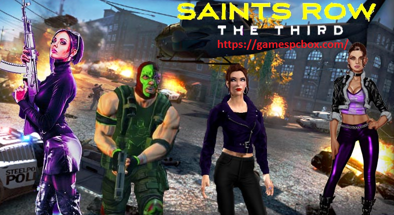 Saints Row The Third For Pc